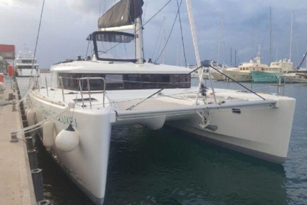 Yachting 2000 - Lagoon 450 F Grand Deluxe I von vorne