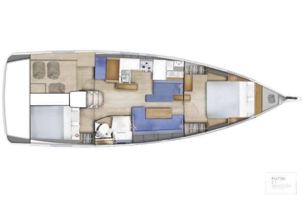 Sun Odyssey 410 Segelyacht