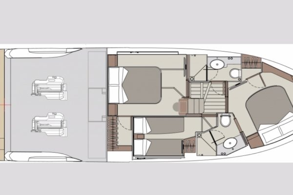Absolute Fly 47  Yachting 2000