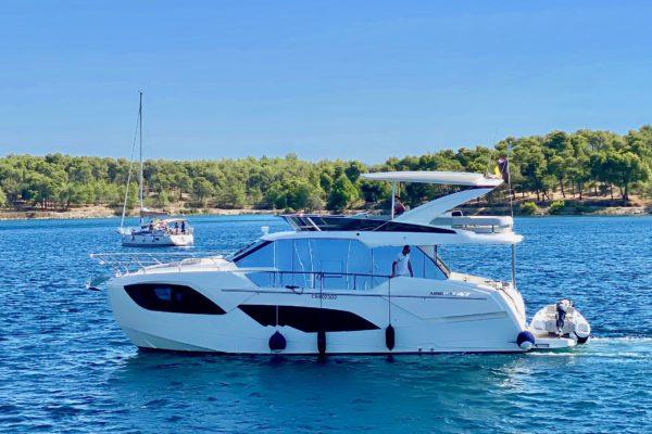 Absolute Fly 47 - Yachtcharter in Kroatien mit Yachting 2000