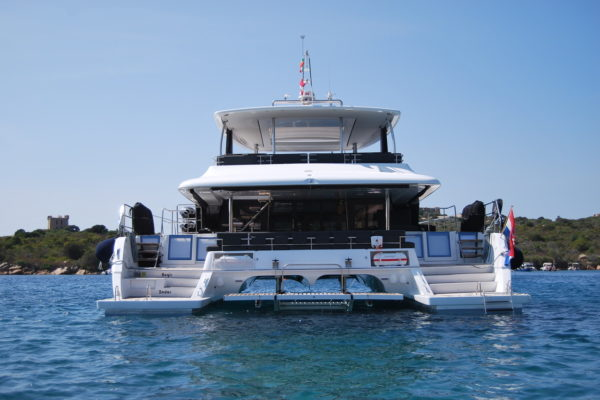 "Lagoon 630 ""Aegir"" Luxury Catamaran Charter Yachting 2000"