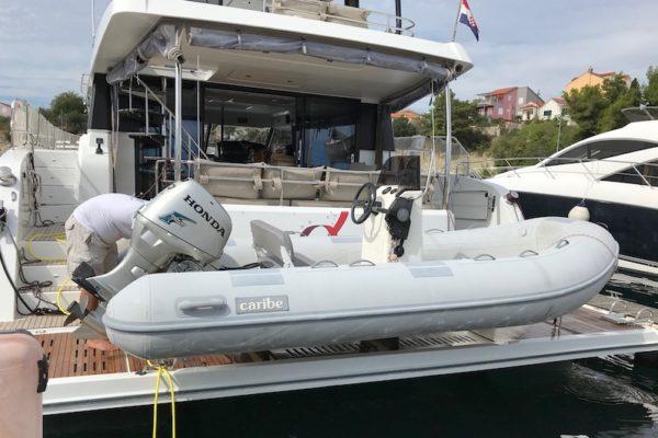 Fountain Pajot 44 Alpha Centauri Tender Boat
