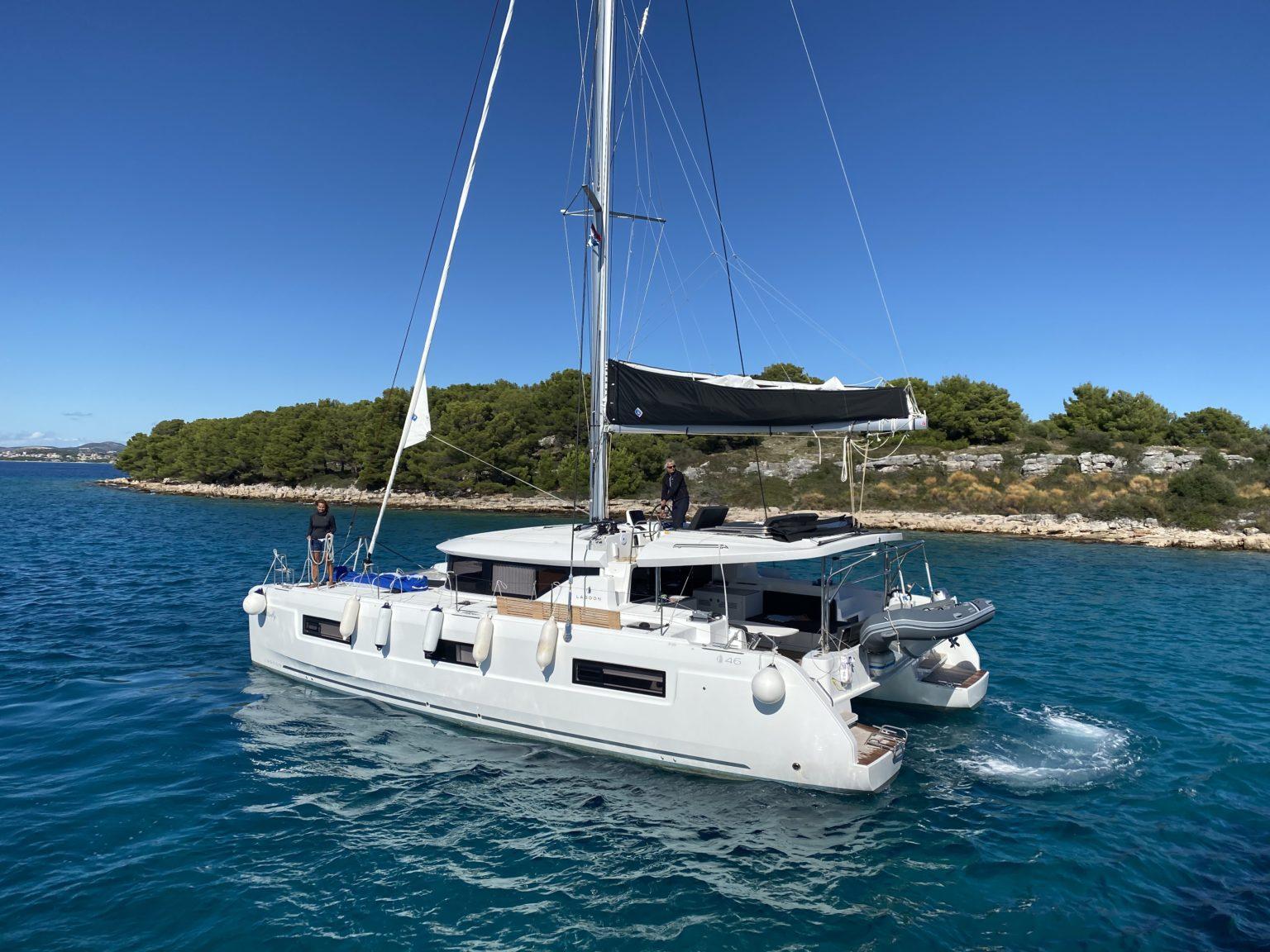 Der neue Lagoon 46 - Luxusurlaub in Kroatien mit Yachting 2000