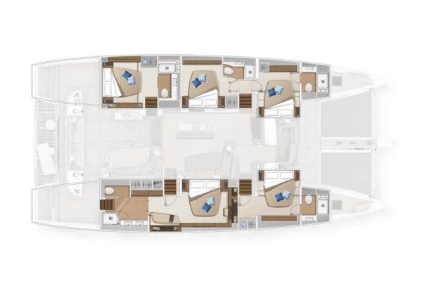 Lagoon Sixty 5  Yachtmanagement Charterflotte