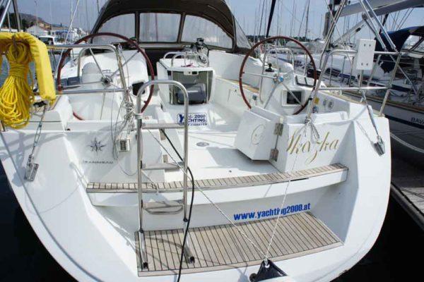 Yachting 2000 - Sun Odyssey 49i Skazka Heck