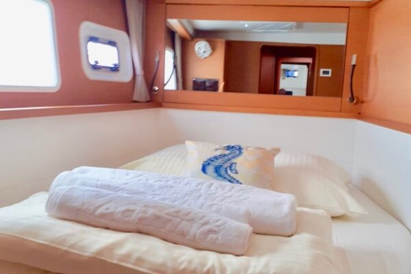 Lagoon 450 Katamaran Croatia Marina Mandalina Charter
