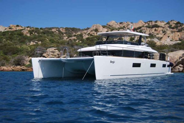 "Lagoon 630 ""Aegir"" Luxury Catamaran Charter Yachting 2000 Croatia"