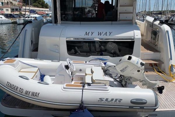 """Absolute Navetta 48 """"My Way"""" Charter Yachting 2000 Yachtsale Yachtmanagement"""