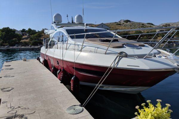 Azimut 43 Ambra Charter Croatia Motoryacht